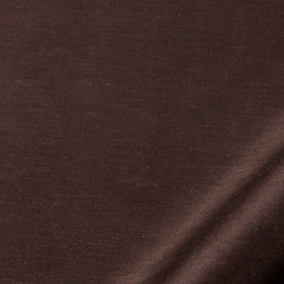 SILK SOLIDS Garlyn Solid Fabric - Bear Brown