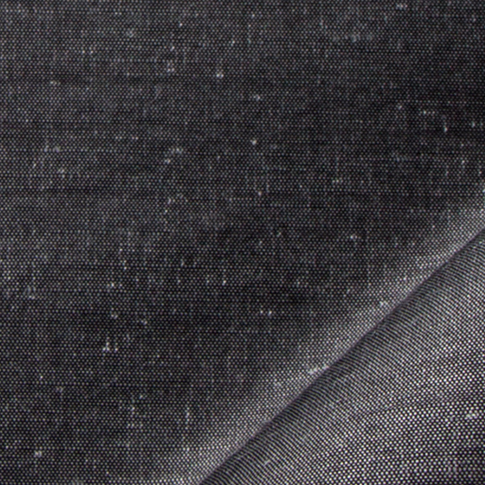 SILK SOLIDS Garlyn Solid Fabric - Coal
