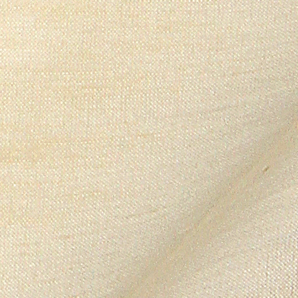 SILK SOLIDS Garlyn Solid Fabric - Cream