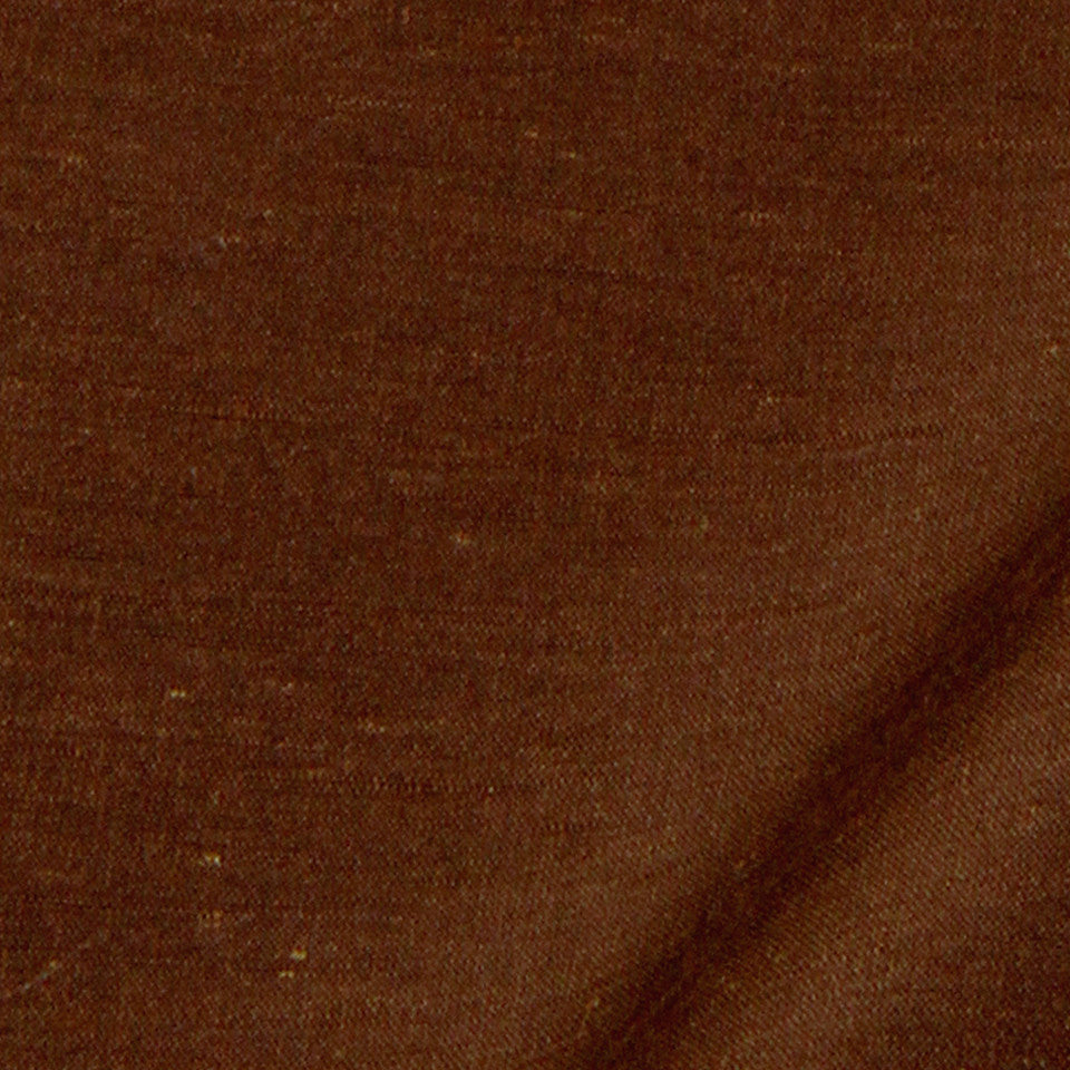 SILK SOLIDS Garlyn Solid Fabric - Leather Brown