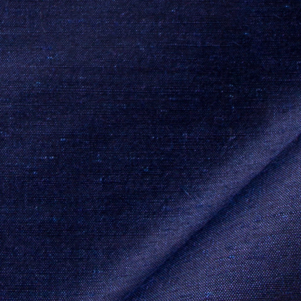 SILK SOLIDS Garlyn Solid Fabric - Navy