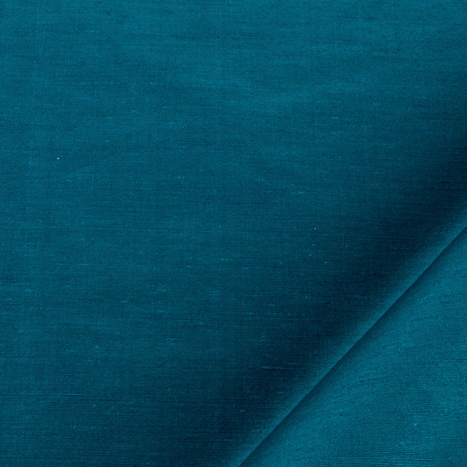 SILK SOLIDS Garlyn Solid Fabric - Neptune
