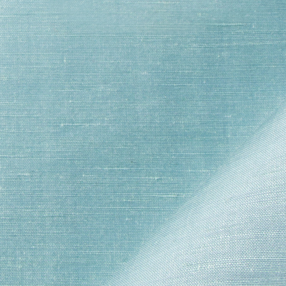 SILK SOLIDS Garlyn Solid Fabric - Pool
