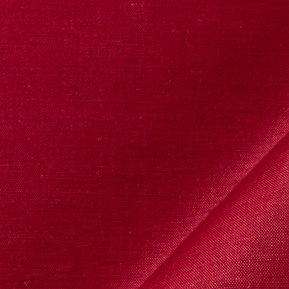 SILK SOLIDS Garlyn Solid Fabric - Red Apple
