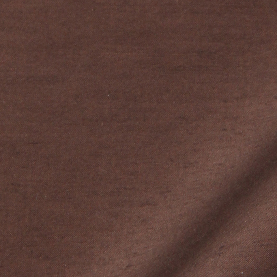 SILK SOLIDS Garlyn Solid Fabric - Walnut
