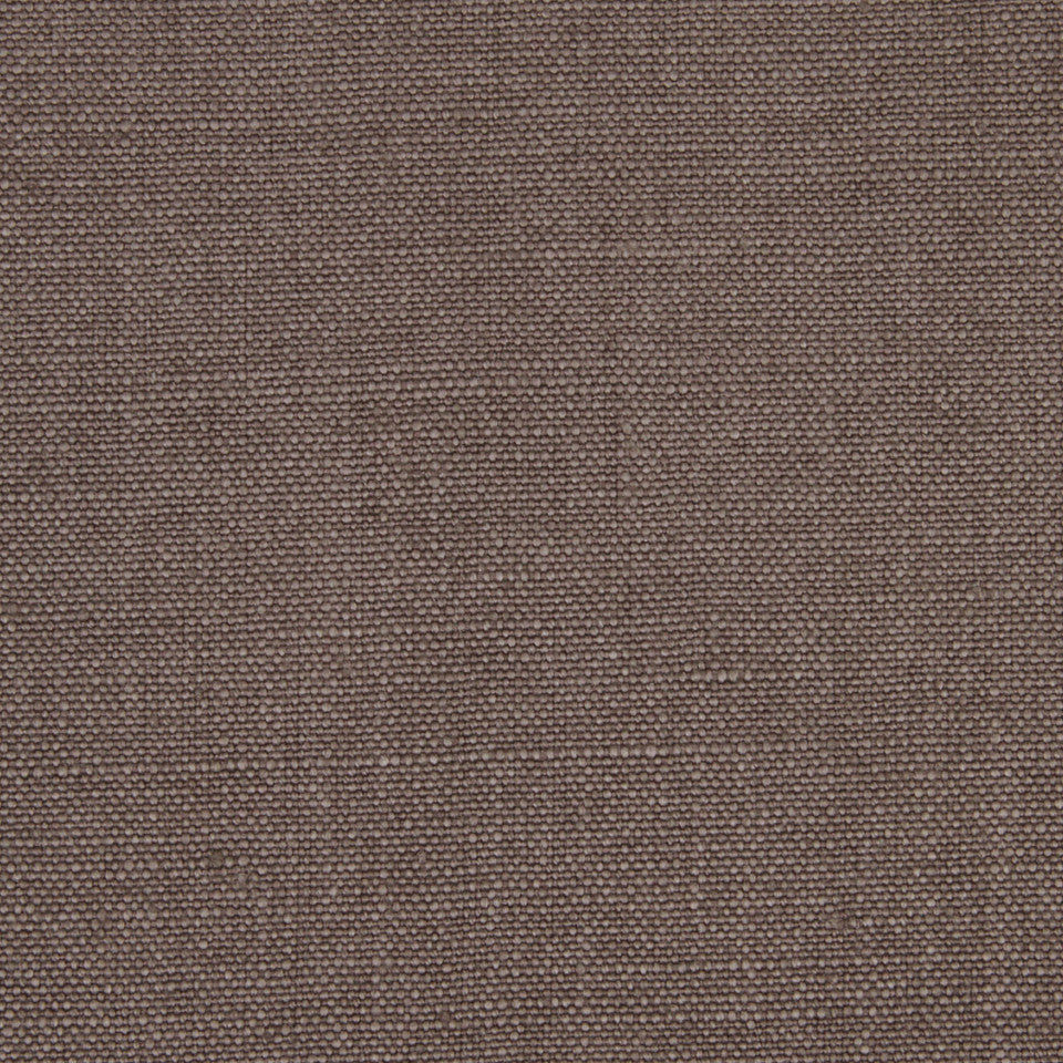 LINEN SOLIDS Linseed Solid Fabric - Ash