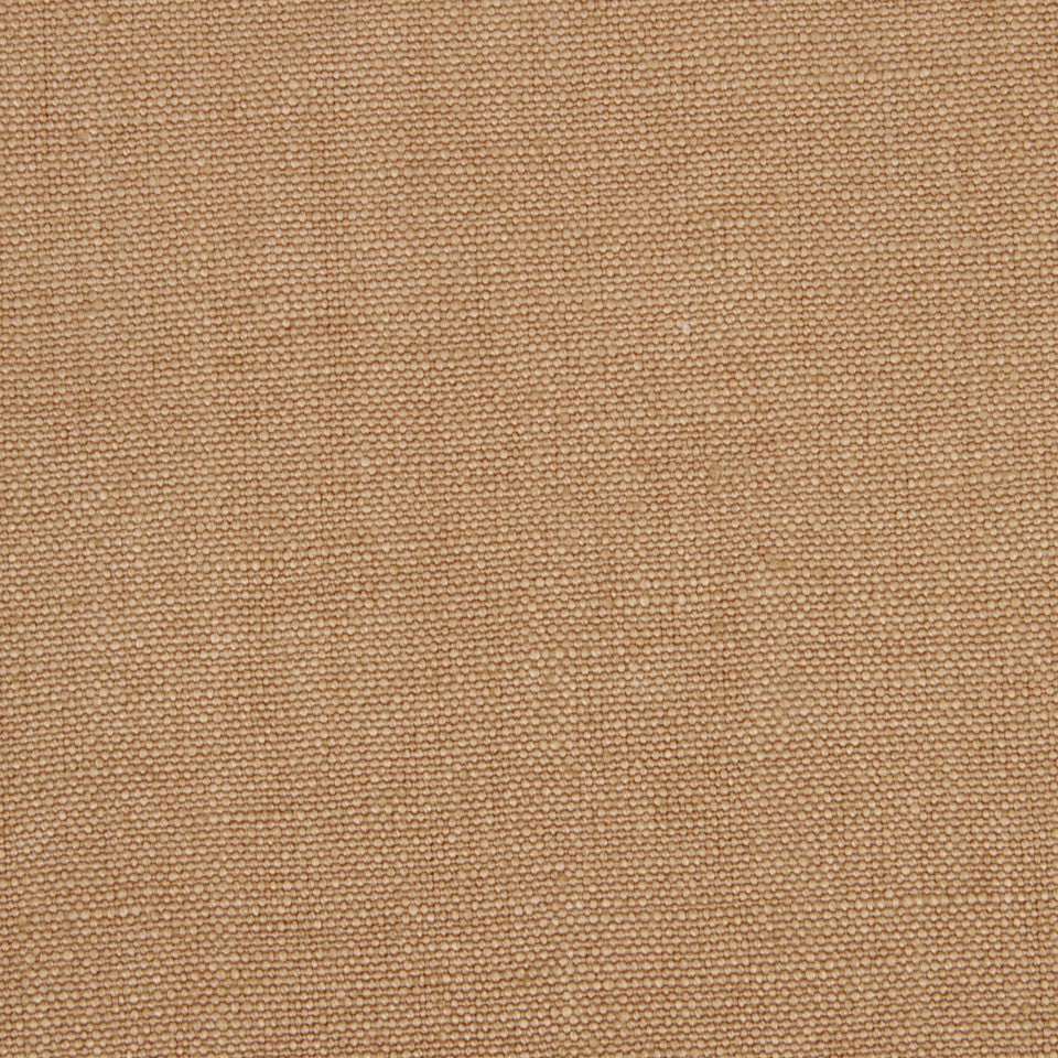 LINEN SOLIDS Linseed Solid Fabric - Dark Honey