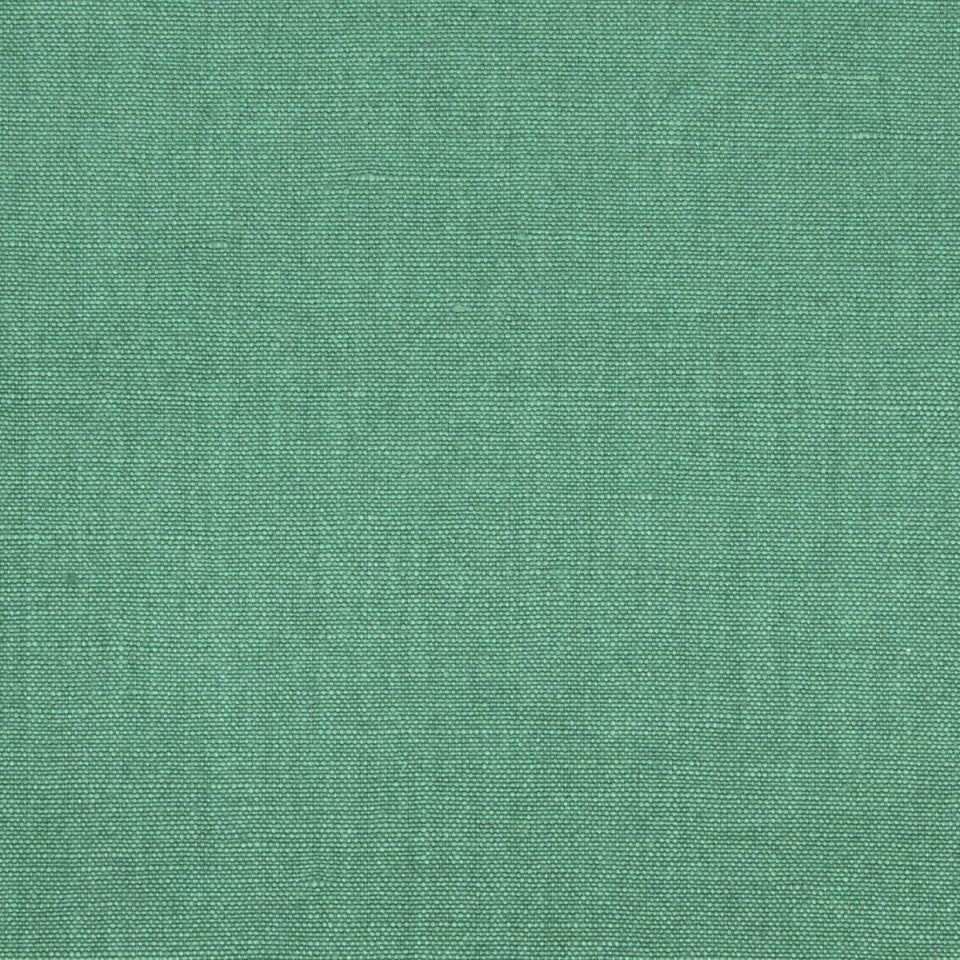 LINEN SOLIDS Linseed Solid Fabric - Jade
