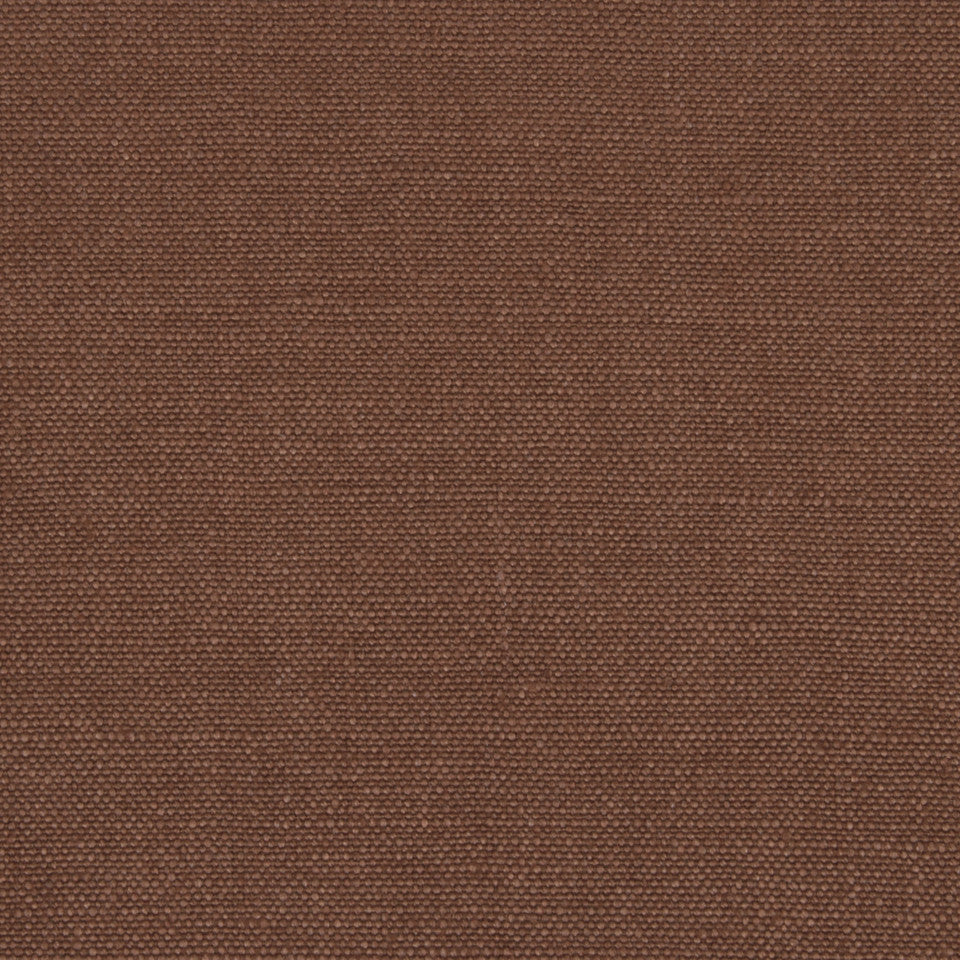 LINEN SOLIDS Linseed Solid Fabric - Teak
