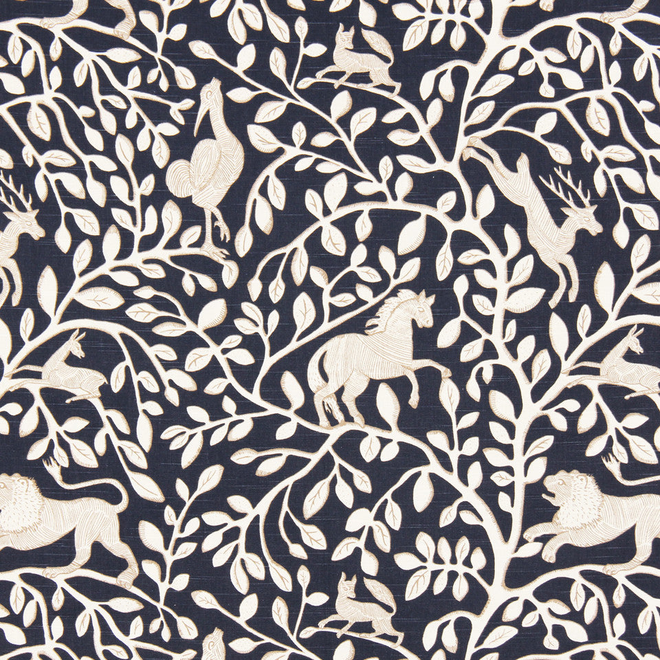 DWELLSTUDIO DECORATIVE MODERN Pantheon Fabric - Admiral