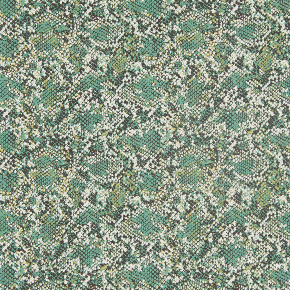 DWELLSTUDIO DECORATIVE MODERN Renegade Fabric - Mineral Green