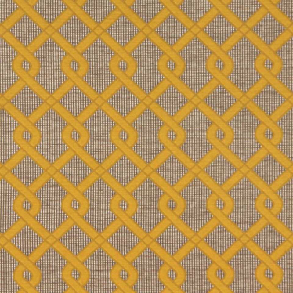 DWELLSTUDIO MODERN COUTURE Braided Twist Fabric - Citrine