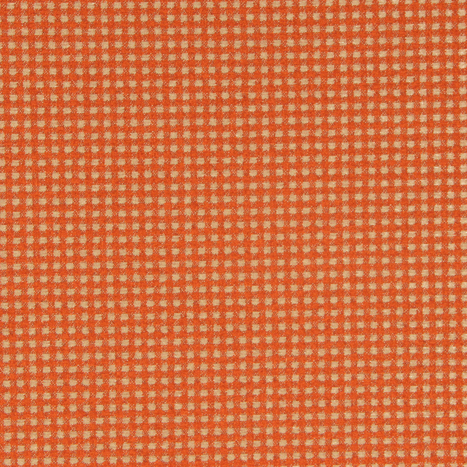 DWELLSTUDIO MODERN COUTURE Boucle Tape Fabric - Chili Coral