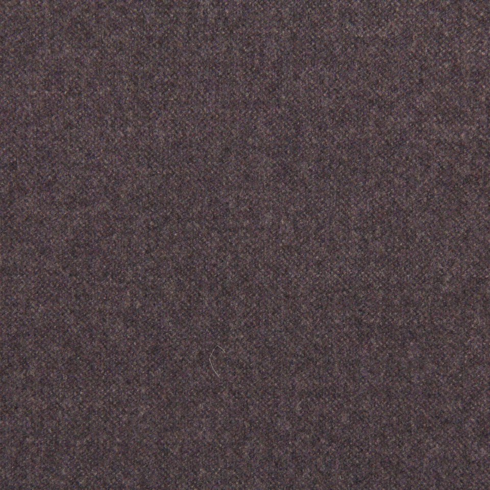 WOOL TEXTURES Wool Flannel Fabric - Aubergine
