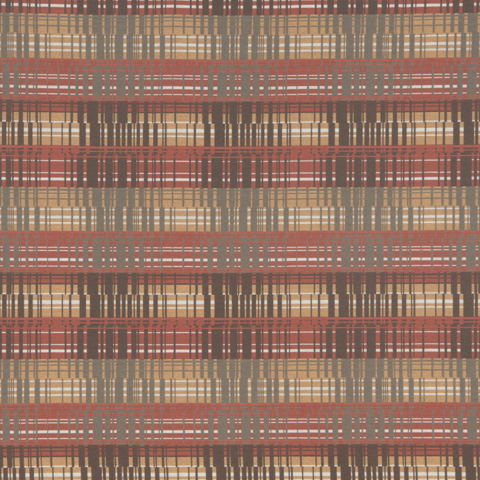 CRYPTON MODERN UPHOLSTERY Wall Street Fabric - Oak Leaf