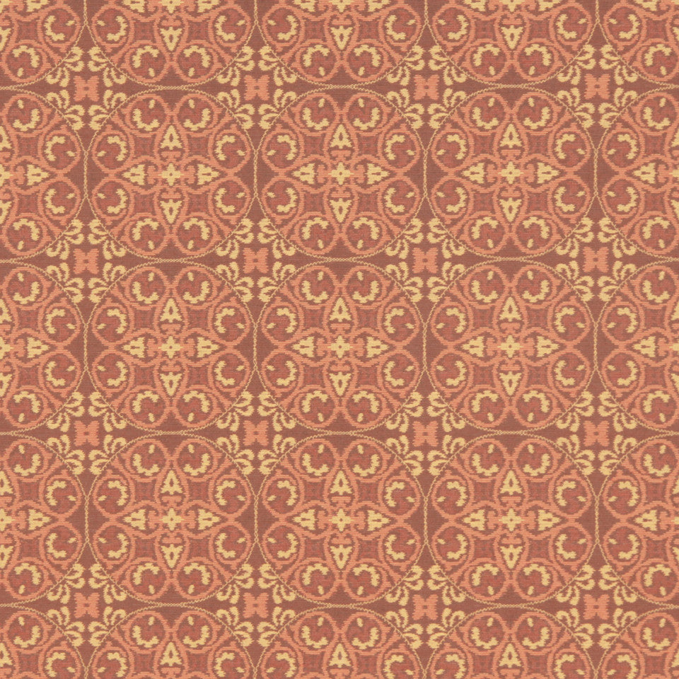 CRYPTON MODERN UPHOLSTERY Bukhara Fabric - Apricot