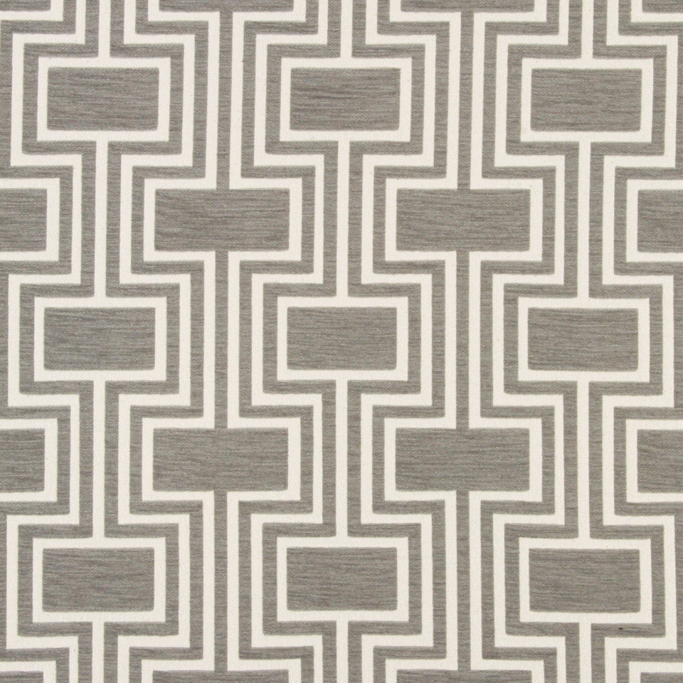 DWELLSTUDIO DECORATIVE MODERN Conduit Fabric - Dove