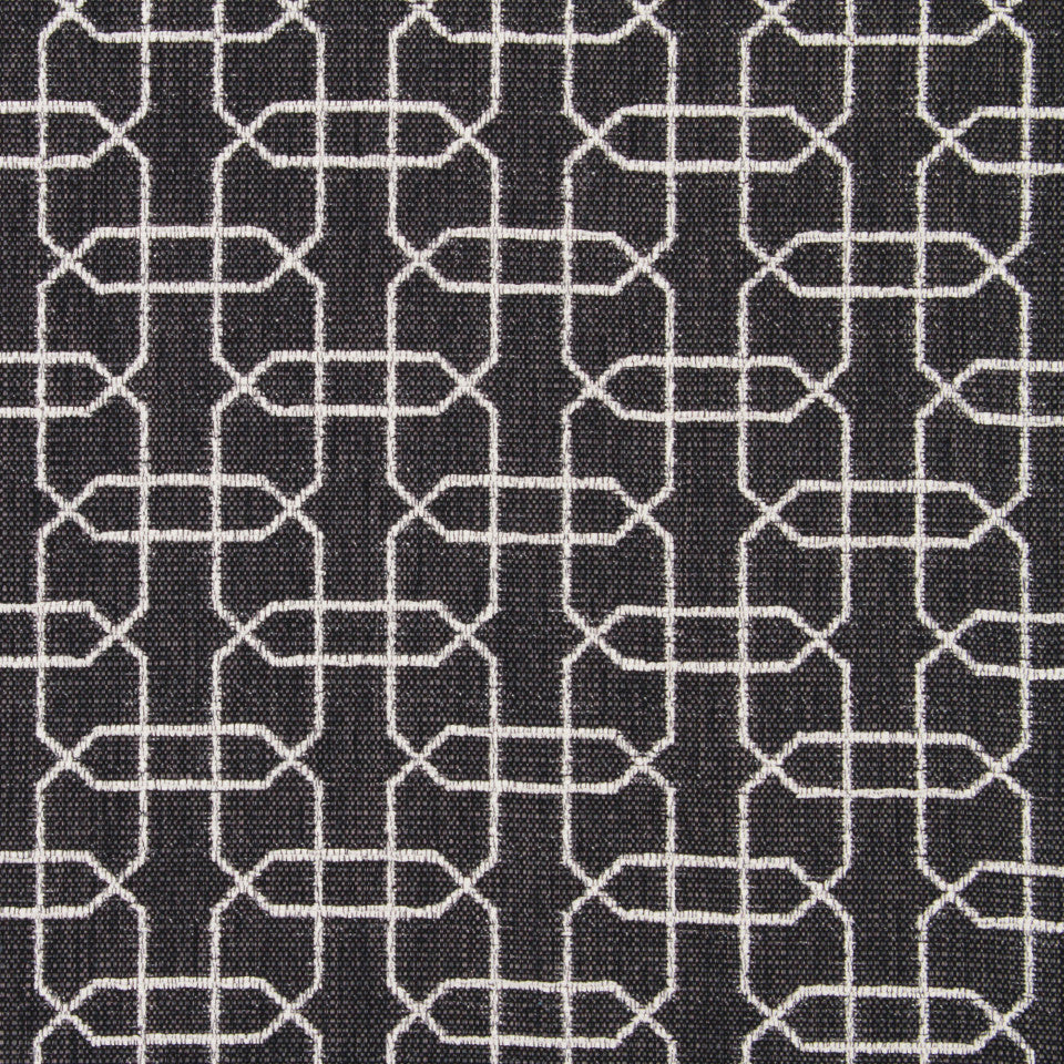 DWELLSTUDIO DECORATIVE MODERN Ardmore Fabric - Graphite