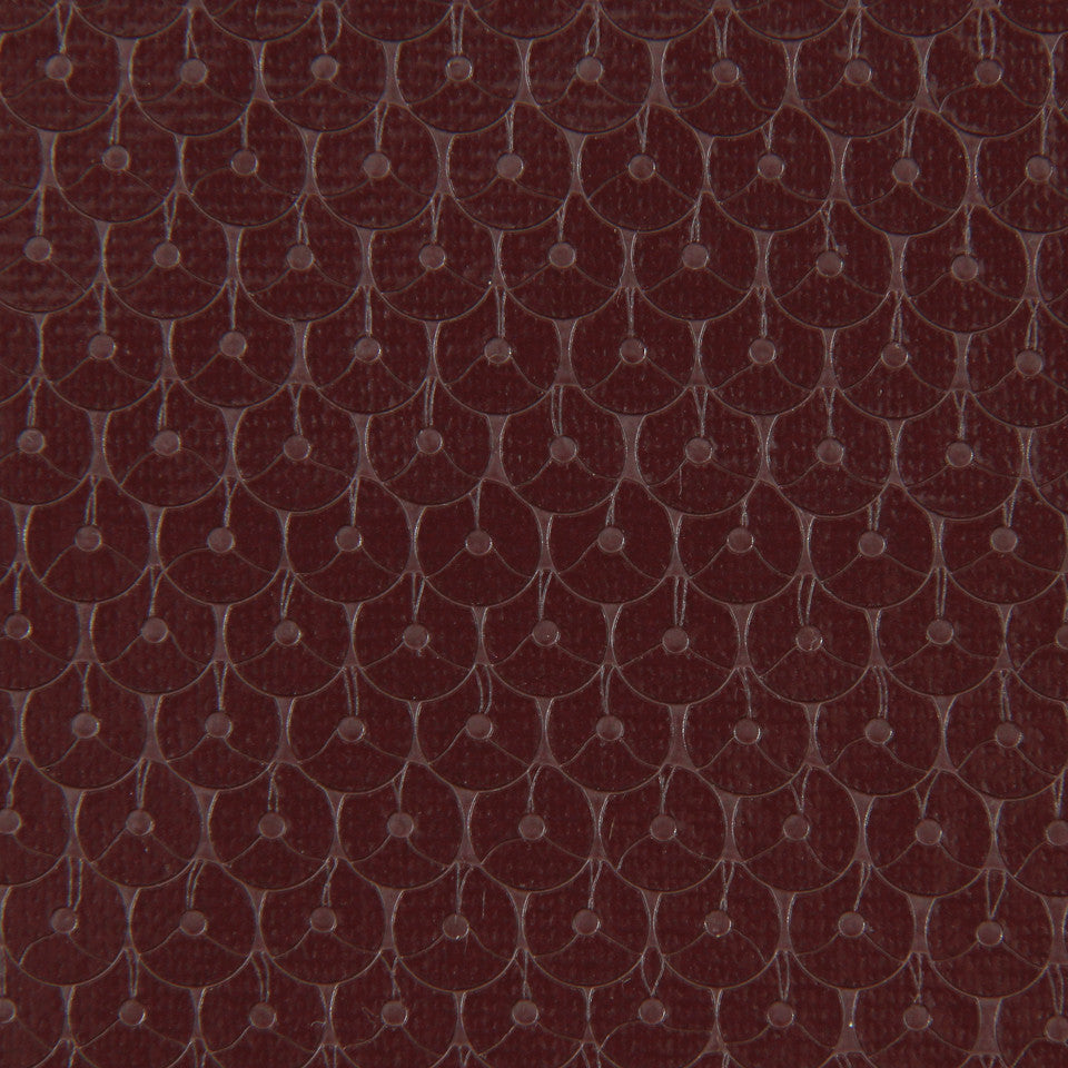 DWELLSTUDIO MODERN COUTURE Glimmer Sequin Fabric - Oxblood
