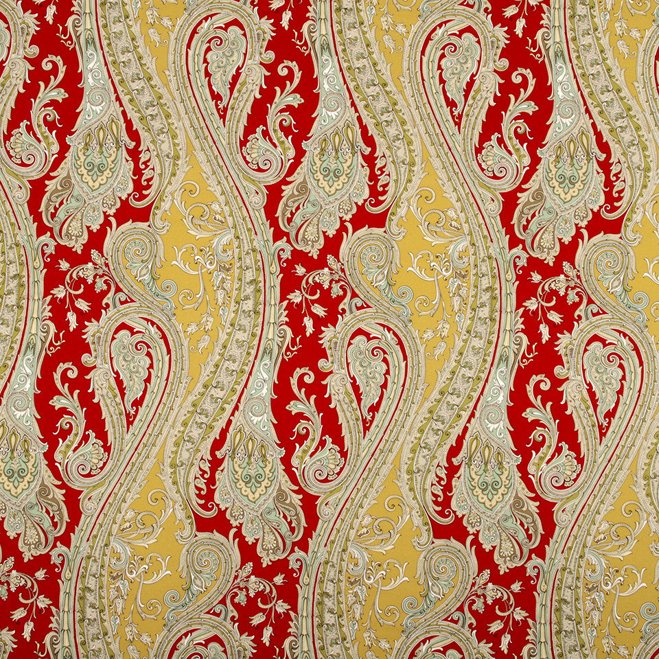 LACQUER RED Styria Fabric - Lacquer Red