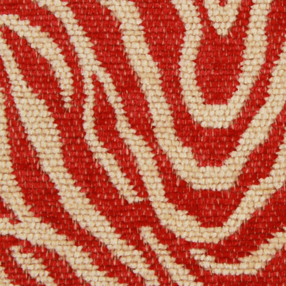 LACQUER RED High Run Fabric - Lacquer Red