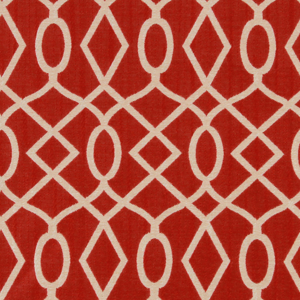 LACQUER RED Encourage Fabric - Lacquer Red