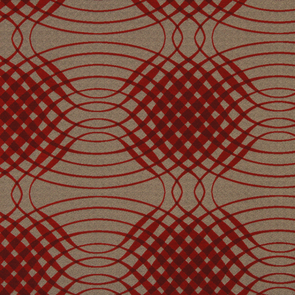 LACQUER RED Preferential Fabric - Lacquer Red
