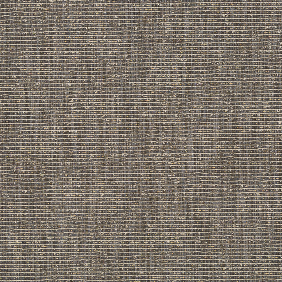 RIBBED TEXTURES Empire City Fabric - Chalkboard