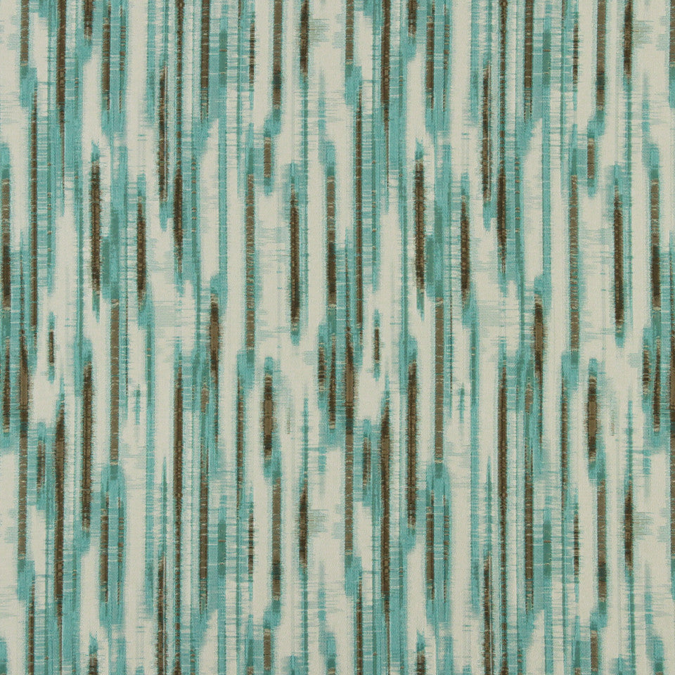 DWELLSTUDIO DECORATIVE MODERN Goddard Fabric - Aquatint