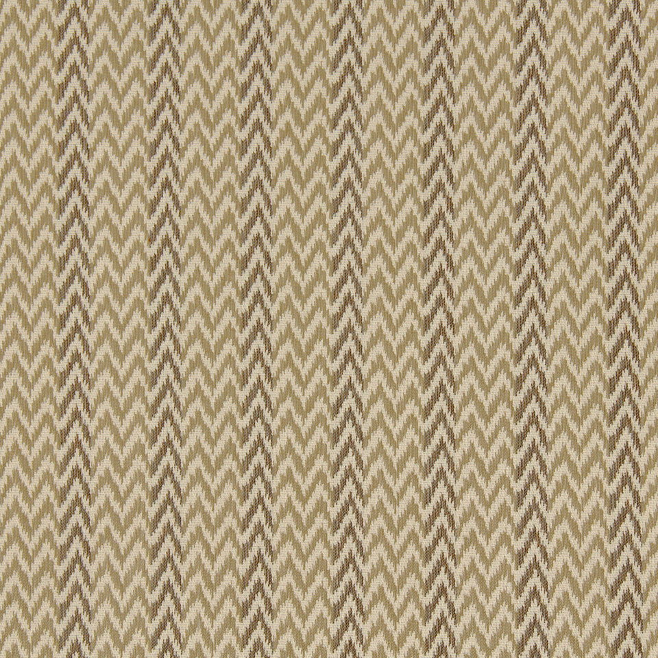 PERFORMANCE UPHOLSTERY/NANO-TEX  DURABLOCK/FAUX LEATHER Chevron Ikat Fabric - Shell