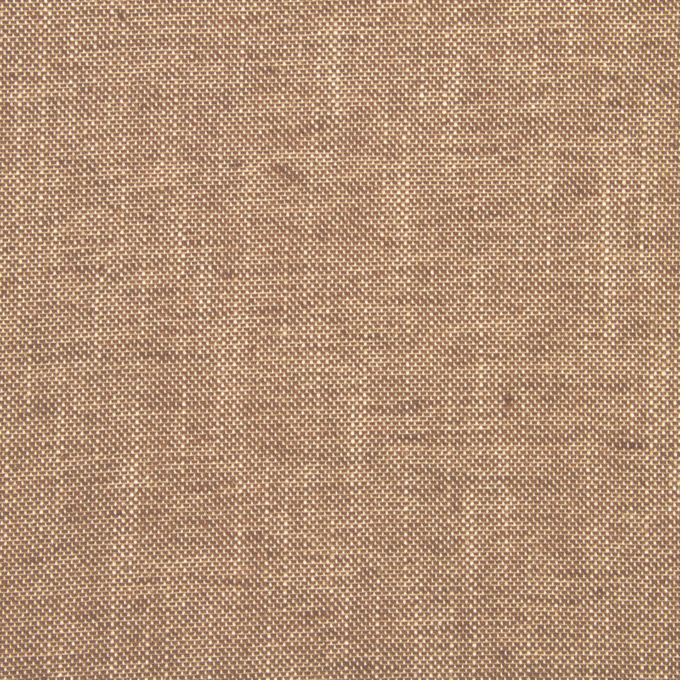 LINEN TEXTURES Linen Canvas Fabric - Chocolate