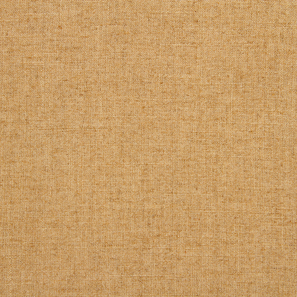 LINEN TEXTURES Serene Linen Fabric - Honeysuckle
