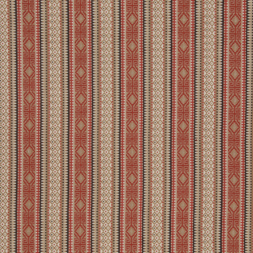 LACQUER RED Casual Art Fabric - Lacquer Red