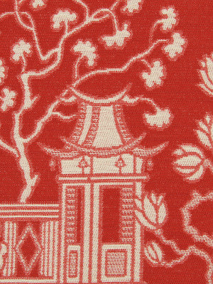 LACQUER RED Big Spring Fabric - Lacquer Red