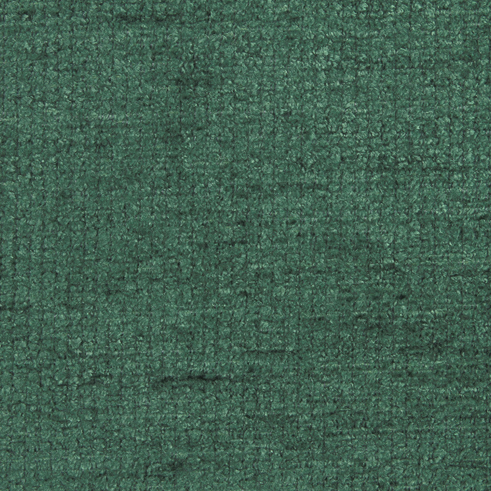 PLUSH CHENILLES Royal Chenille Fabric - Billiard Green