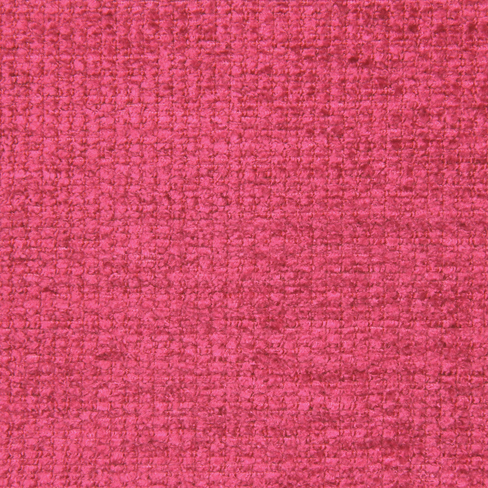 PLUSH CHENILLES Royal Chenille Fabric - Fuchsia