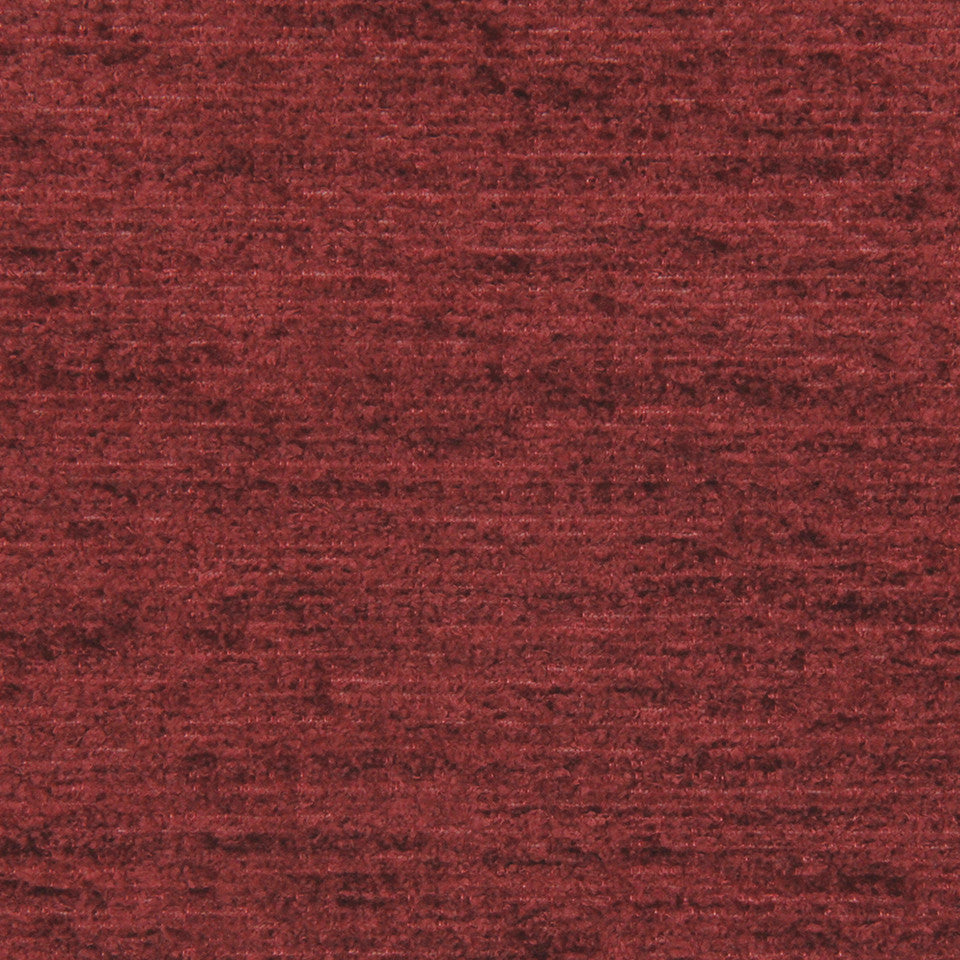 PLUSH CHENILLES Royal Chenille Fabric - Red Earth