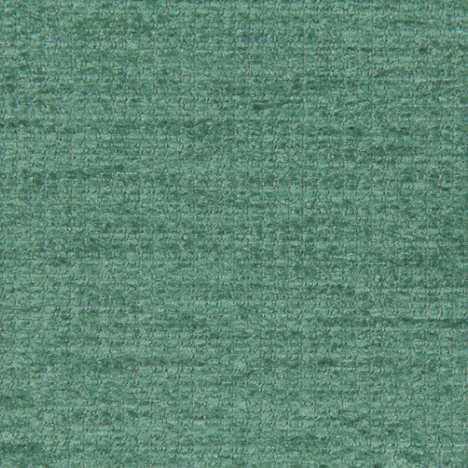 PLUSH CHENILLES Royal Chenille Fabric - Viridian