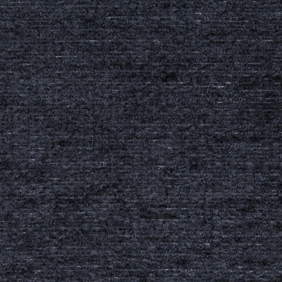 PLUSH CHENILLES Royal Chenille Fabric - Navy Blazer