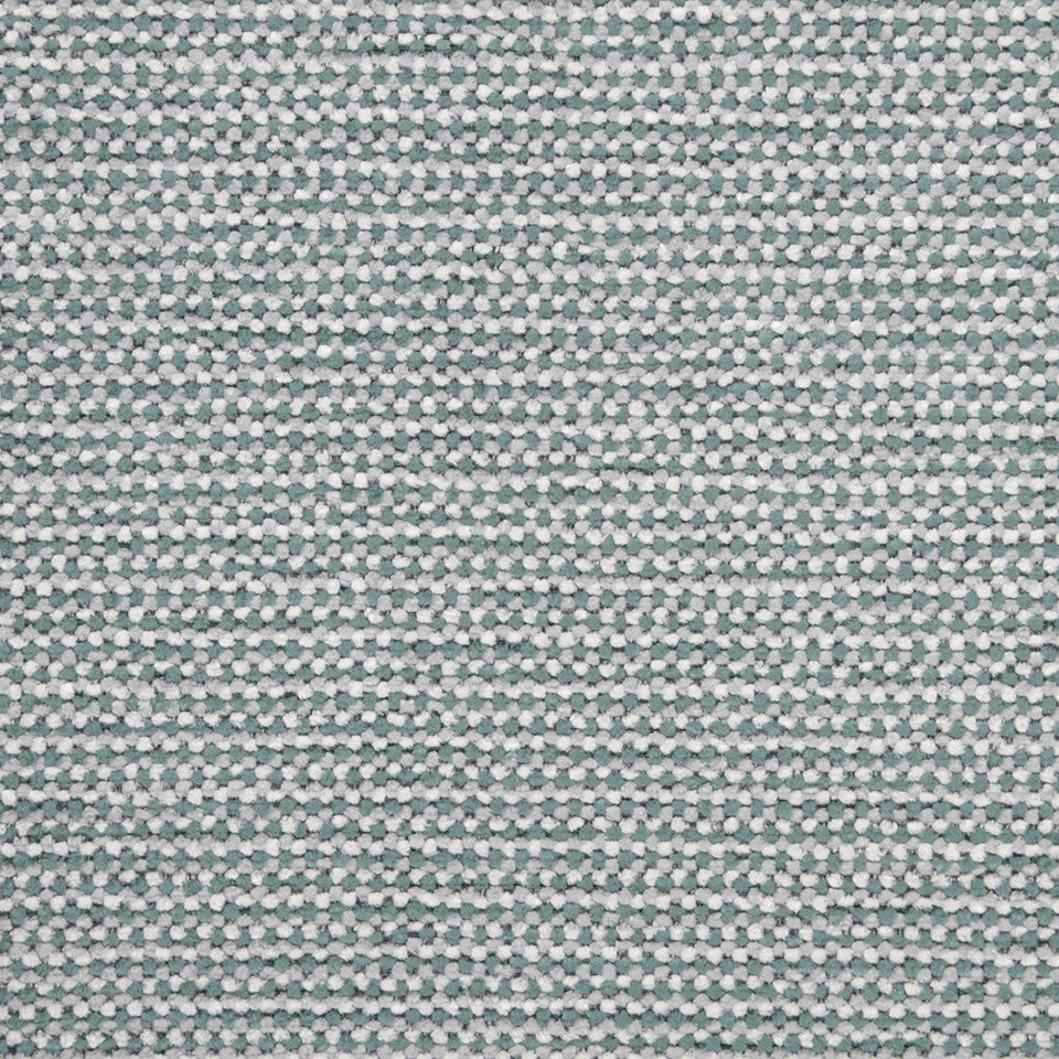 PLUSH CHENILLES Soft Mosaic Fabric - Cove
