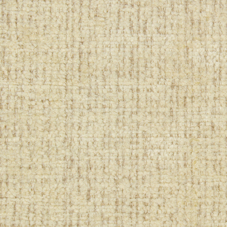 GOLD LEAF Grand Chenille Fabric - Buttercream