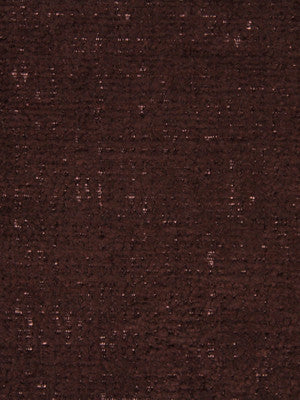 PLUSH CHENILLES Grand Chenille Fabric - Chocolate