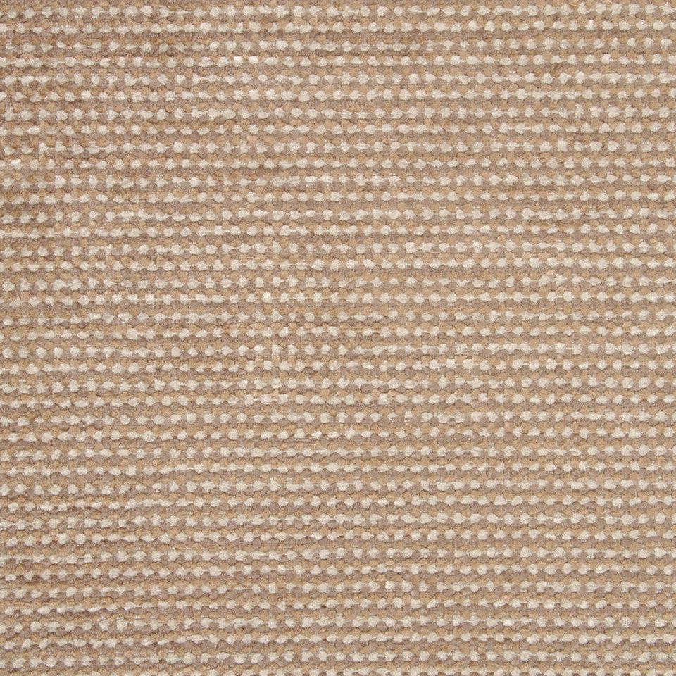 PLUSH CHENILLES Soft Mosaic Fabric - Linen