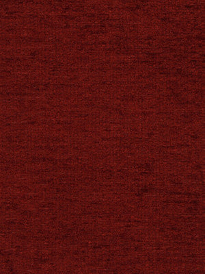 PLUSH CHENILLES Grand Chenille Fabric - Classic Crimson