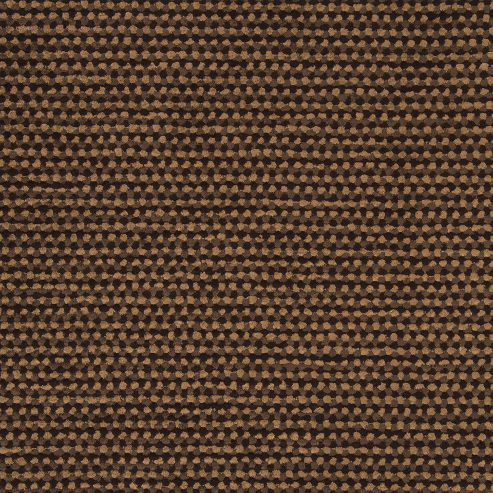 PLUSH CHENILLES Soft Mosaic Fabric - Mink