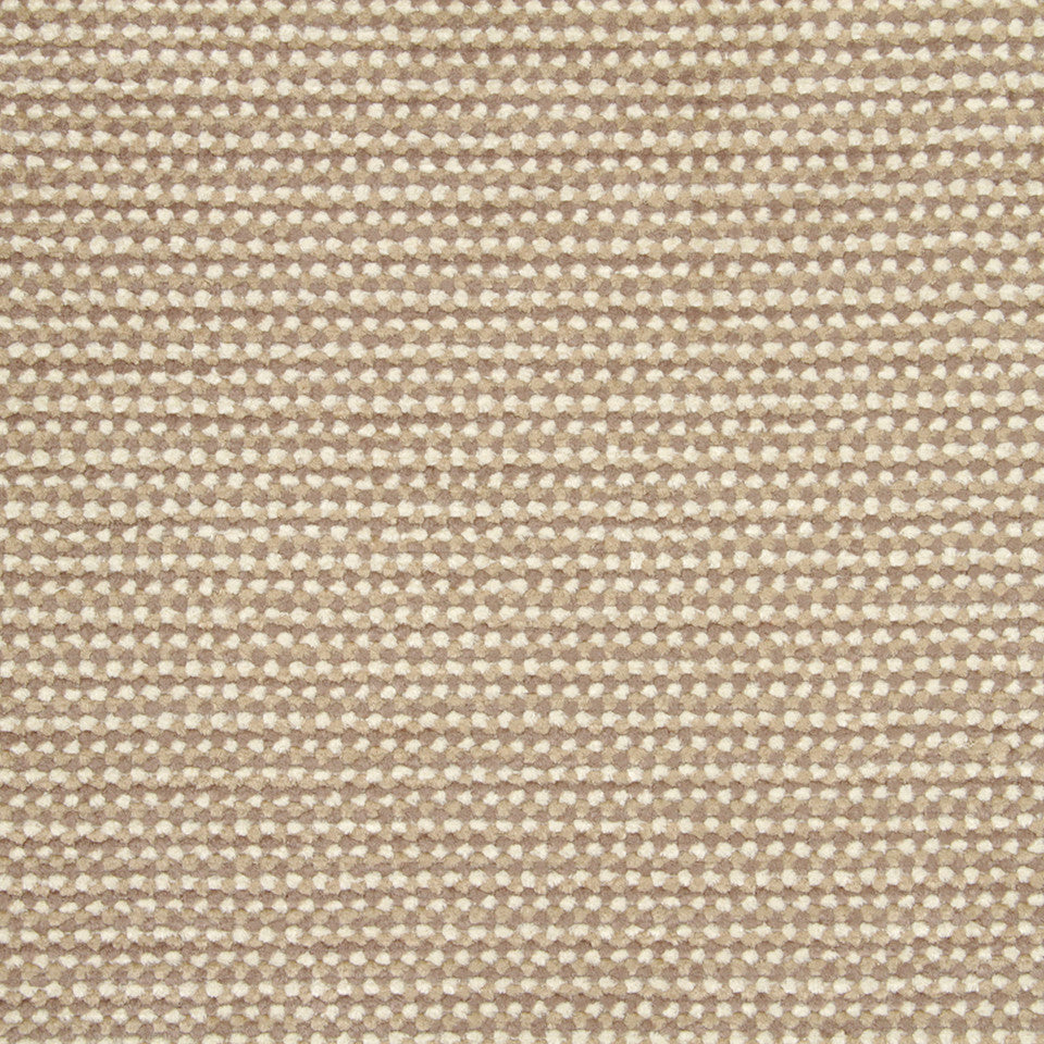 PLUSH CHENILLES Soft Mosaic Fabric - Pale Cream