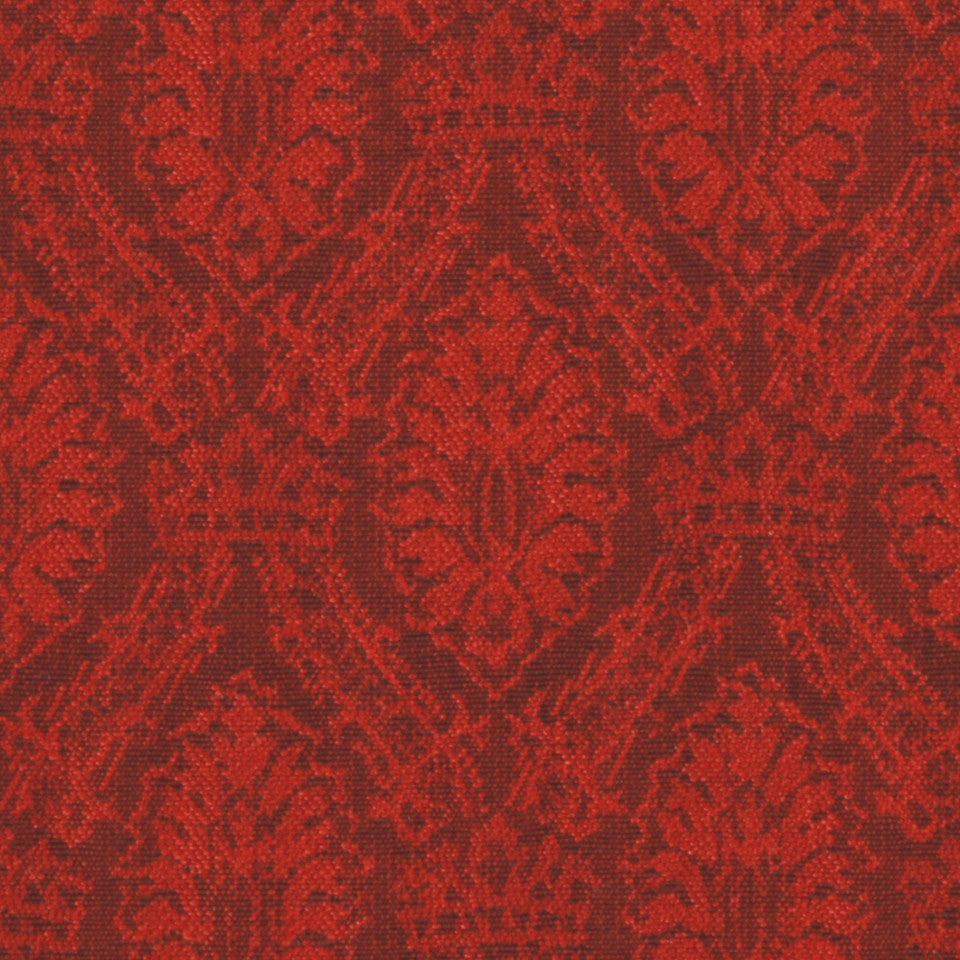 LACQUER RED Spearhead Fabric - Lacquer Red