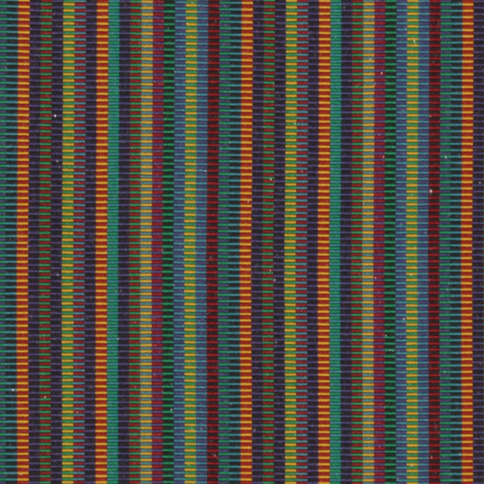 Dexter Stripe Fabric - Turquoise