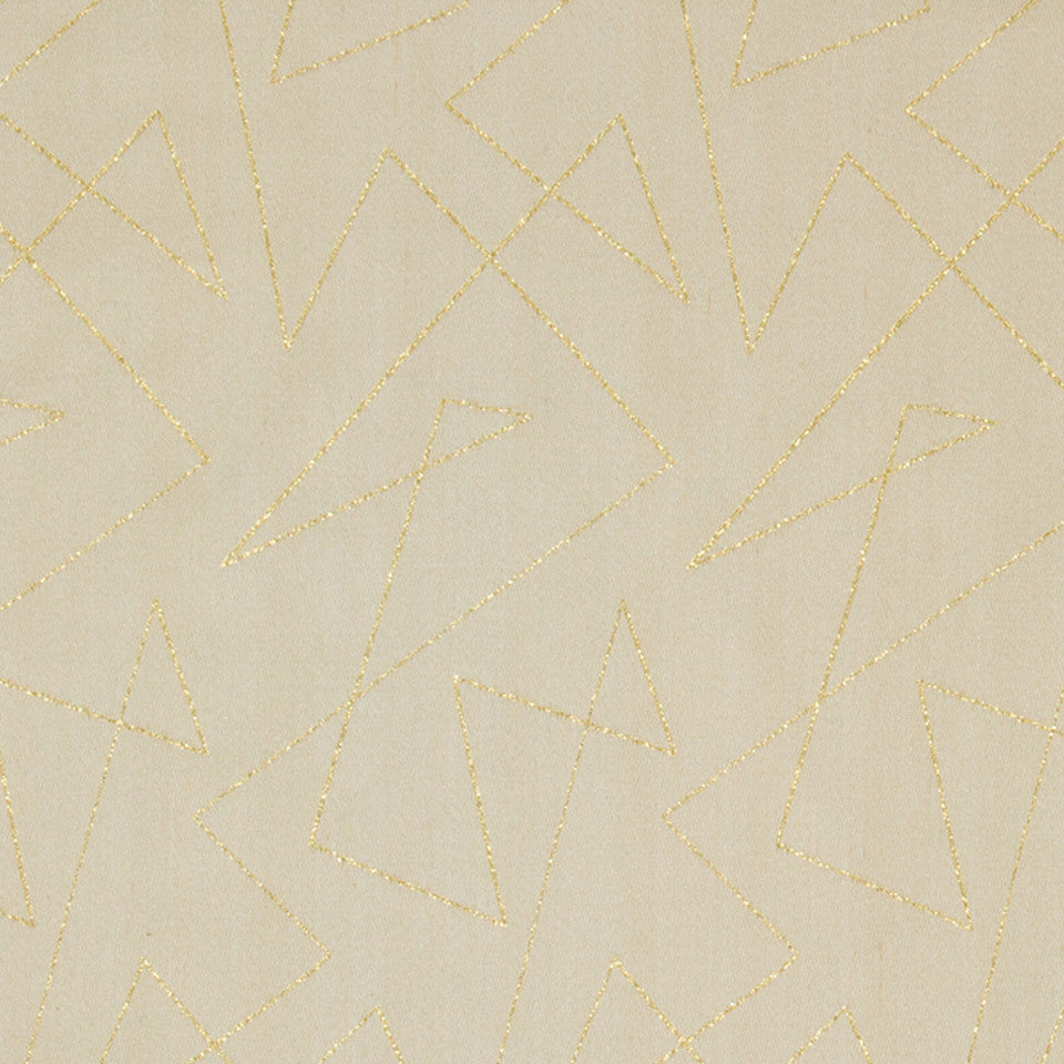 GOLD LEAF Sparkling Edge Fabric - Gold Leaf