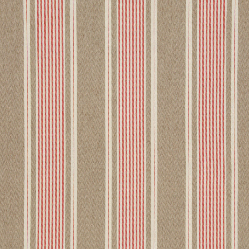 LACQUER RED Little Brooke Fabric - Lacquer Red